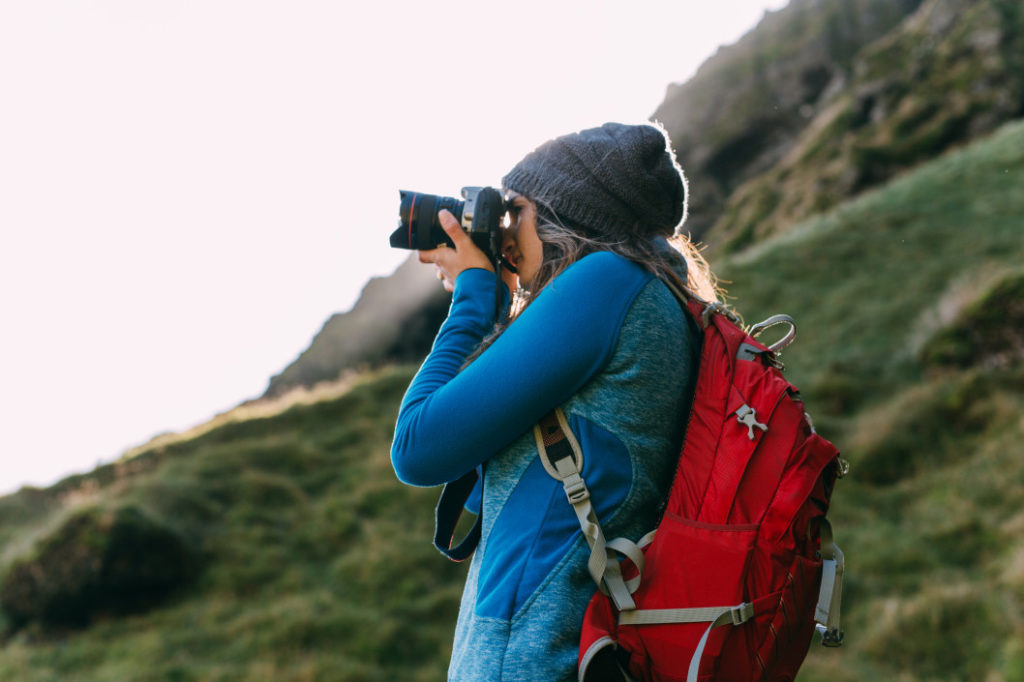 Photographer digital nomad lifestyle